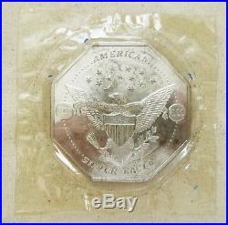 10 oz. 999 Silver LIBERTY EAGLE FLYING ORIGINAL SEAL Art Round/Bar 1835