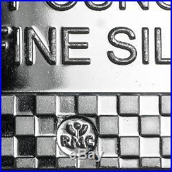 10 oz Silver Bar Republic Metals Corp. Eagle Design (RMC) SKU #103152