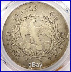 1795 Draped Bust Silver Dollar ($1 Coin, Centered, Small Eagle) PCGS VF Detail