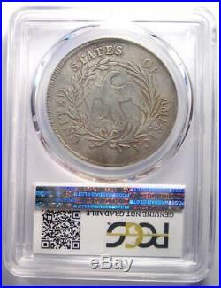 1795 Draped Bust Silver Dollar ($1 Coin, Small Eagle) Certified PCGS VF Detail