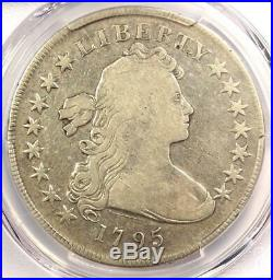 1795 Draped Bust Silver Dollar ($1 Coin, Small Eagle) PCGS Fine Detail
