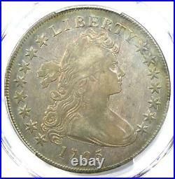 1795 Draped Bust Small Eagle Silver Dollar $1 PCGS VF Detail Rare Coin