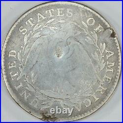 1795 Flowing Hair Half Dollar, AG Grade Details, Damaged- Draw Eagle