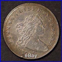 1798 DRAPED BUST $1 SILVER DOLLAR HERALDIC EAGLE REV EARLY US COIN Lot#B346