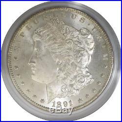 1891 CC $1 Morgan Silver Dollar Top 100 VAM 3 Spitting Eagle PCGS MS64