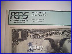 1899 $1 Fr 232 SILVER Certificate PCGS Choice About NEW 58 BLACK EAGLE Currency
