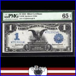 1899 $1 Silver Certificate BLACK EAGLE NOTE PMG 65 EPQ Fr 236 V77130424A