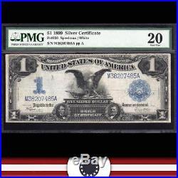 1899 $1 Silver Certificate BLACK EAGLE PMG 20 Fr 236 M38207485A