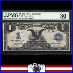1899 $1 Silver Certificate BLACK EAGLE PMG 30 Fr 233 Z21792714Z