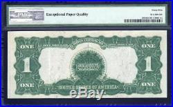1899 $1 Silver Certificate BLACK EAGLE PMG 45 EPQ Fr 233 R60958688R