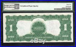 1899 $1 Silver Certificate BLACK EAGLE PMG 65 EPQ Fr 233 B12179959A