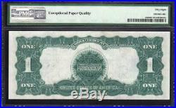 1899 $1 Silver Certificate Bill BLACK EAGLE PMG 58 EPQ Fr 236 V77130421A