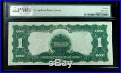 1899 $1 Silver Certificate Black Eagle Fr #230 Pmg Gem Unc 66 Epq