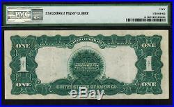 1899 $1 Silver Certificate FR-227 Black Eagle Graded PMG 40 EPQ EF