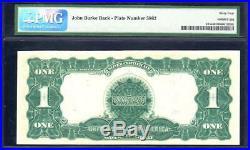 1899 $1 Silver Certificate Mule BLACK EAGLE PMG 64 EPQ Fr 235m E9939515A