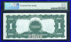 1899 $1 Silver Certificate Note BLACK EAGLE PMG 63 EPQ Fr 236 M55976092A