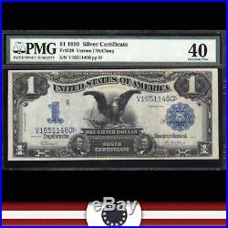 1899 $1 Silver Certificate PMG 40 Fr 229 BLACK EAGLE V16511460