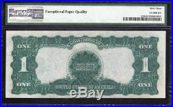 1899 $1 Silver Certificate PMG 63 EPQ Fr 235 BLACK EAGLE K58140982A