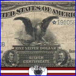 1899 $1 Silver Certificate STAR BLACK EAGLE Fr 236 19105800B