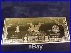 1899 4 Troy Oz. 999 Fine Silver $1.00 Silver Certificate Black Eagle. Hot