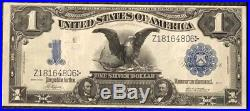 1899 Black Eagle $1 Silver Certificate. Higher Grade