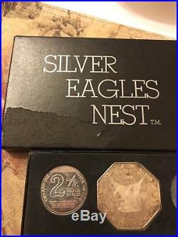 1969 Silver Eagles Nest 6-Piece Set 10 Ten Five 5