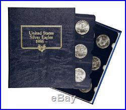 1986 1996 American Silver Eagle Set (11 Coins) (Whitman Coin Album) SKU42416