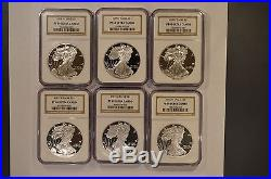 1986-2016 American Silver Eagle ASE set graded PF69 Ultra Cameo by NGC 30 coins