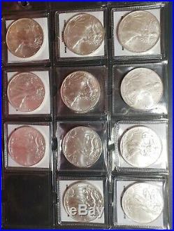 1986-2016 American Silver Eagle Brilliant Uncirculated Set 31 1 Ounce Fine