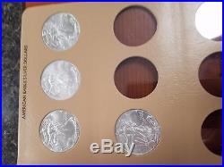 1986-2016 Silver American Eagle 31 U. S. Mint Gem Unc Coin Set in Dansco Album