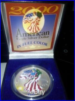 1986-2016 Uncirculated American Silver Eagle 1oz. Set in Dansco Album