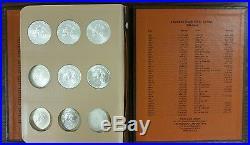 1986-2017 1oz Silver American Eagle 32 -Coin Set BU (Dansco Album)