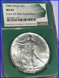 NGC MS69 2017 American Silver Eagle