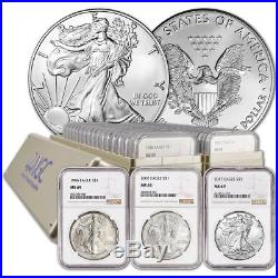 1986 2018 Complete 33 Coin Silver Eagle Set Ngc Ms 69 Item # 3