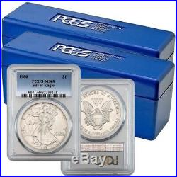 1986-2019 Complete Silver Eagle Set PCGS MS69