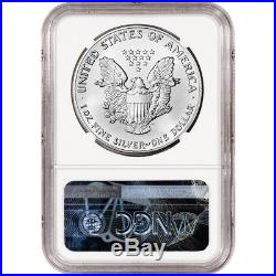 1990 American Silver Eagle NGC MS70
