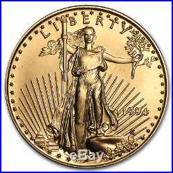 1994 1/2 oz Gold American Eagle BU SKU #4726
