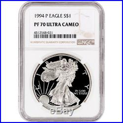 1994-P American Silver Eagle Proof NGC PF70 UCAM