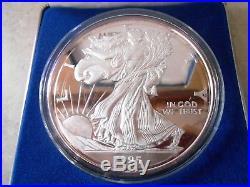 1995 Half Pound 999 Fine Silver American Eagle Walking