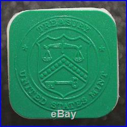 1995 Original BU Roll. 999 Fine Silver American Eagle Dollar 1 Oz. 20 US Coins
