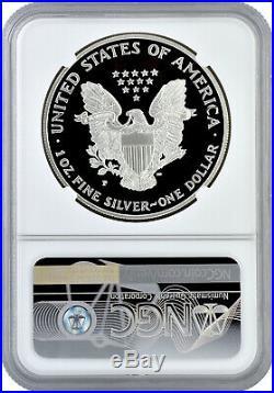 1996 P $1 Silver Proof 1oz American Eagle NGC PF 70 Ultra Cameo