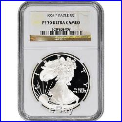 1996-P American Silver Eagle Proof NGC PF70 UCAM