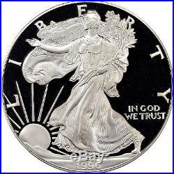 1996-P American Silver Eagle Proof PCGS PR70 DCAM