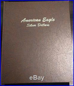 1 Album 1986-2016 1oz Silver American Eagle 31-Coin Set (Dansco Album) BU