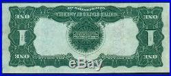 $1 Black Eagle Silver Certificate 1899 INVERTED BACK ERROR Fr. #228 XF & RARE