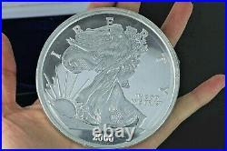 2000 American Eagle USA Liberty Half Troy Pound. 999 Fine Silver Coin 190.7g