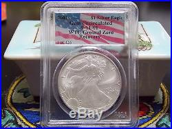 2001 Silver Eagle & Swiss Gold 1 of 426 complete set WTC World Trade Center 911