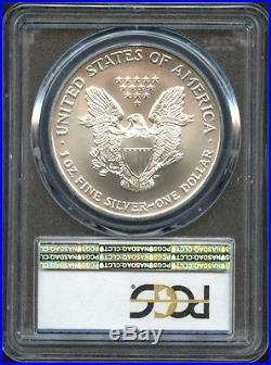 2002 American Silver Eagle PCGS MS-70 -137798