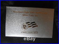 2006 American Eagle 20th Anniversary Silver Eagles Coin Set Proof