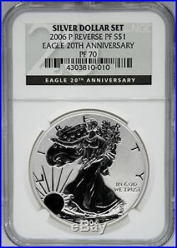 2006-P NGC PF70 Ultra Cameo Reverse Proof Silver Eagle
